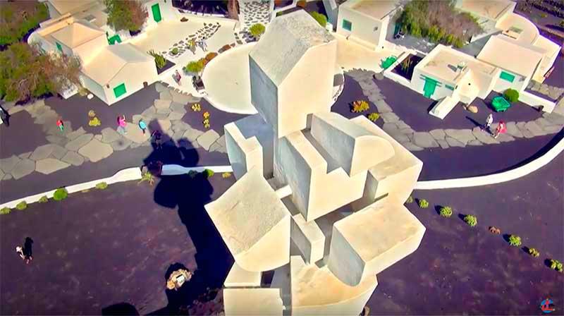 Monumento al Campesino.Descubrir Lanzarote. Autor: CACT Lanzarote