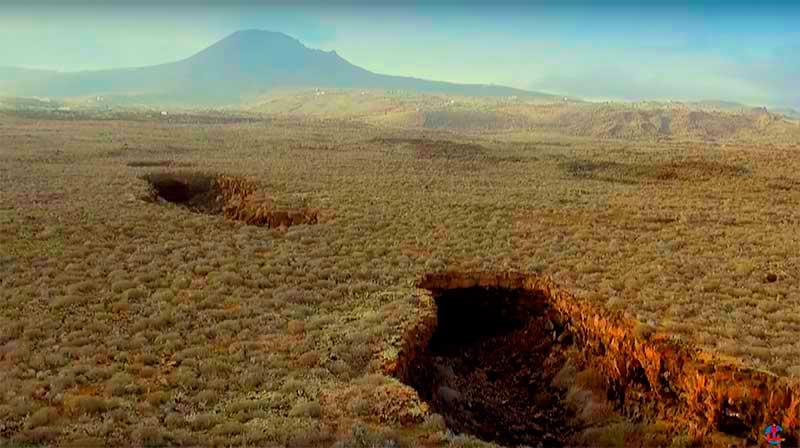Cueva de los verdes. Descubrir Lanzarote. Autor: CACT Lanzarote