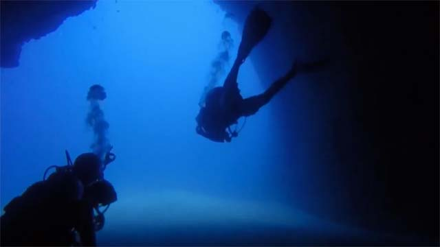 Scuba diving and dive sites in Lanzarote - Cathedral