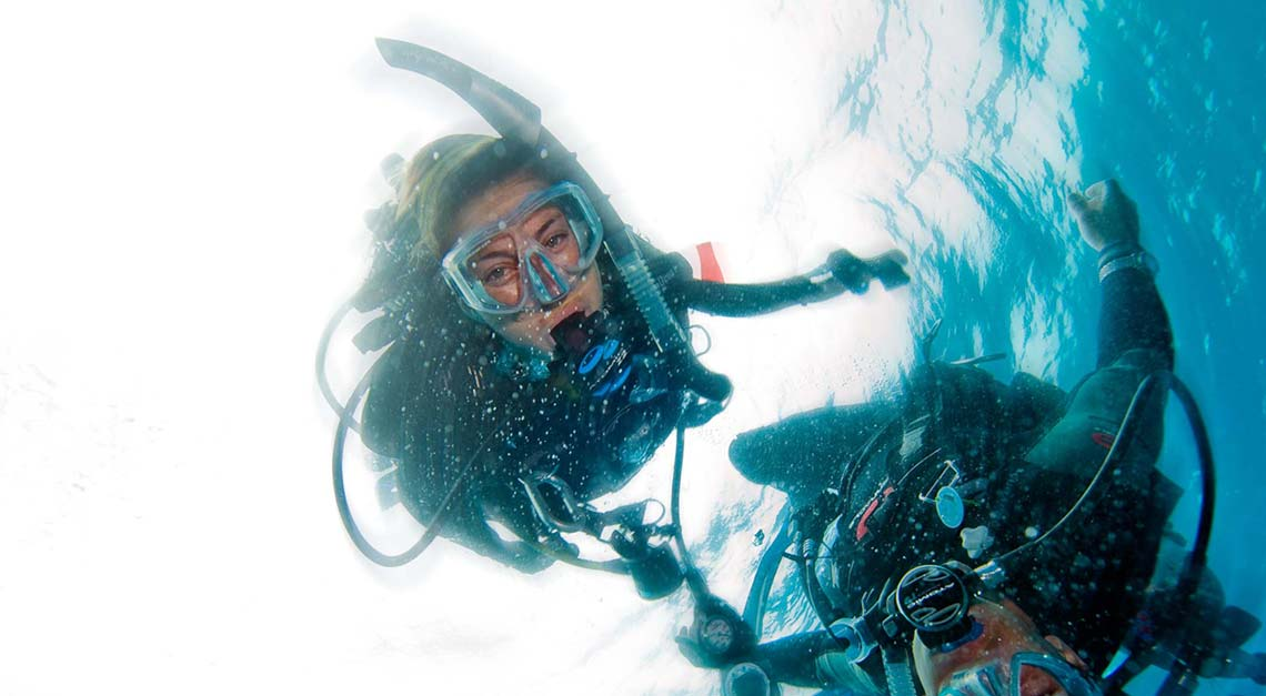 Advanced courses for divers