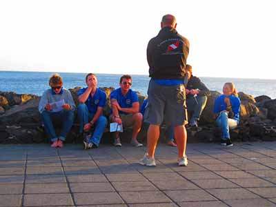 PADI Pro courses. Divemaster and Instructor courses on Lanzarote.